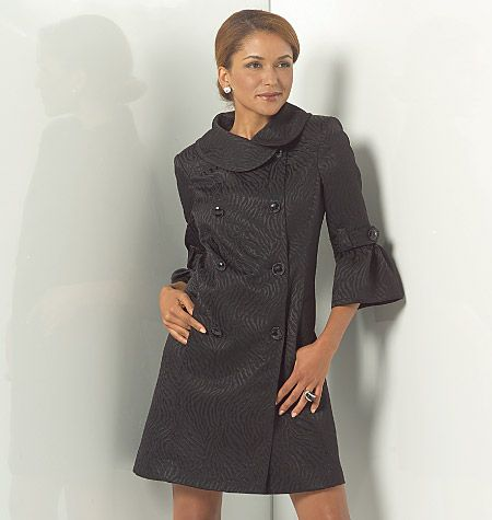 M5525, Misses'/Women's Lined Jackets,  Coats and Belt