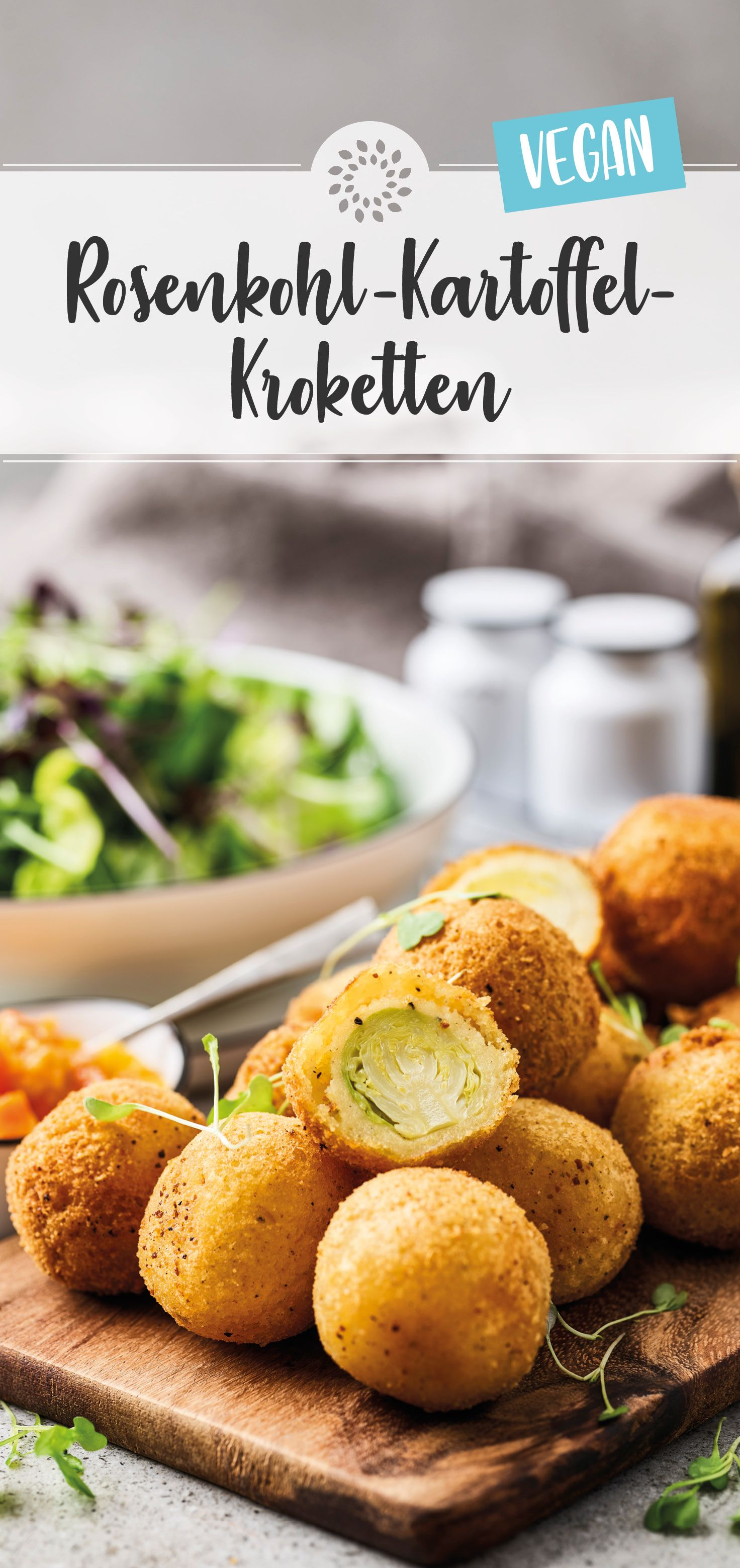Rosenkohl-Kartoffel-Kroketten – Carey&CleanEatingS