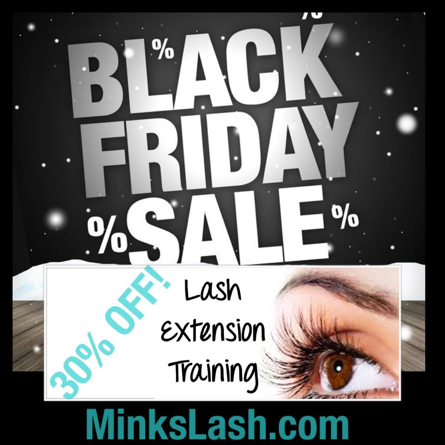 Black Friday Sale Save On Eyelash Extension Training In Atlanta
