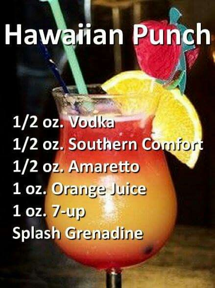 Adult Hawaiian Punch Alcohol Drink Recipes Drinks Alcohol