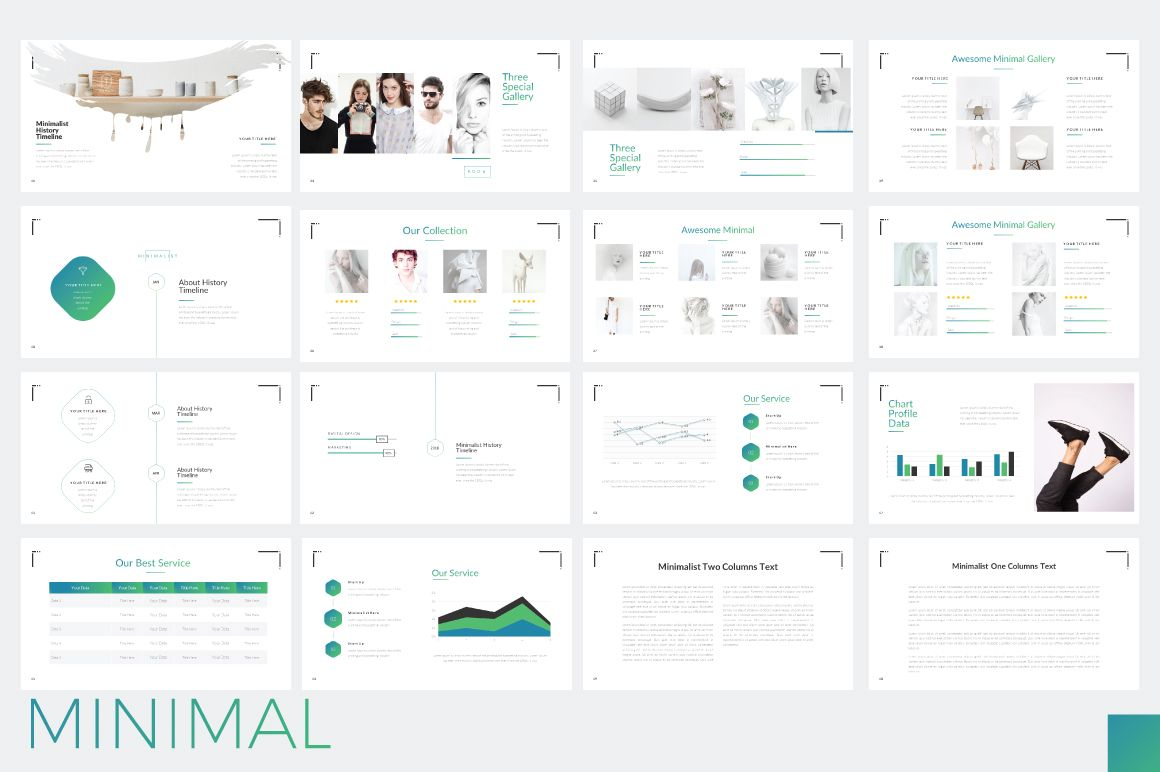 Minimal Minimalist Powerpoint Graphic By Moovied Co Powerpoint Presentation Minimalism