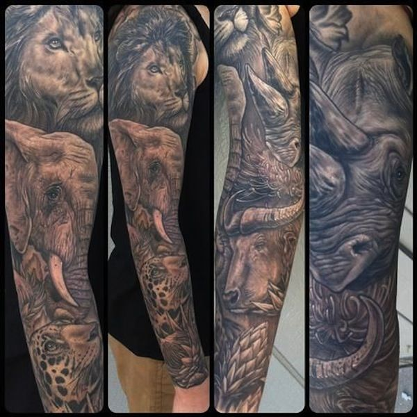 Tattoo Sleeve Ideas For Men Women Inkdoneright 55 Tattoo Sleeves Ideas Tattoo Sleeves Are Animal Sleeve Tattoo Best Sleeve Tattoos Wrist Tattoos For Guys