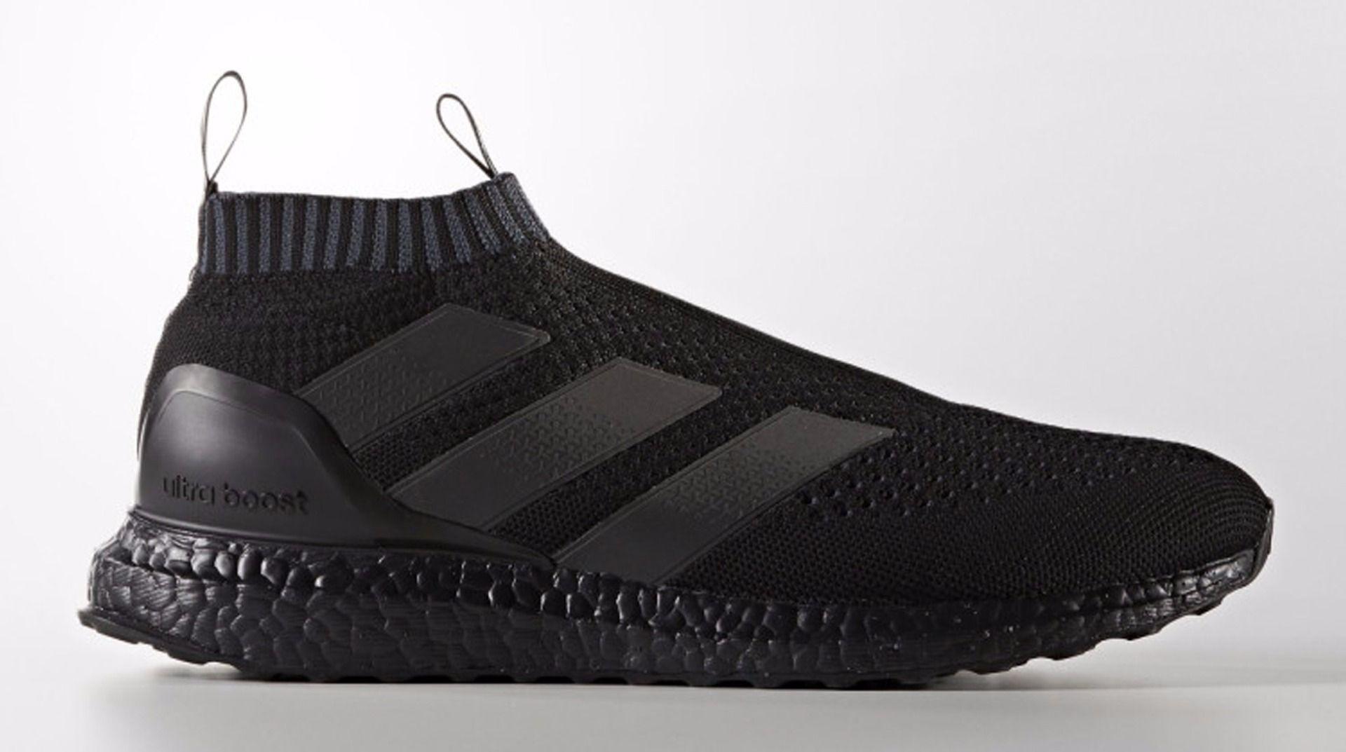 ... adidas ace 16+ purecontrol ultra boost triple black