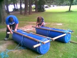 A popular choice for do-it-yourself raft building  | raft in