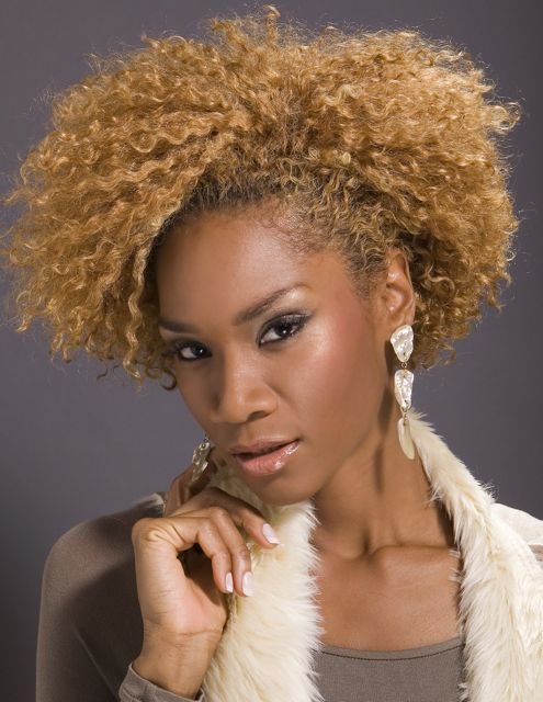 natural hair weave styles photo  1  cute hair