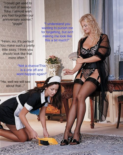 Image result for sissy french Maid punishment
