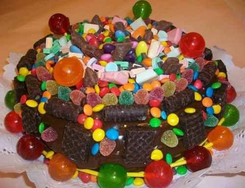 Tortas decoradas con golosinas tortas decoradas tortas - Golosinas para cumpleanos de ninos ...