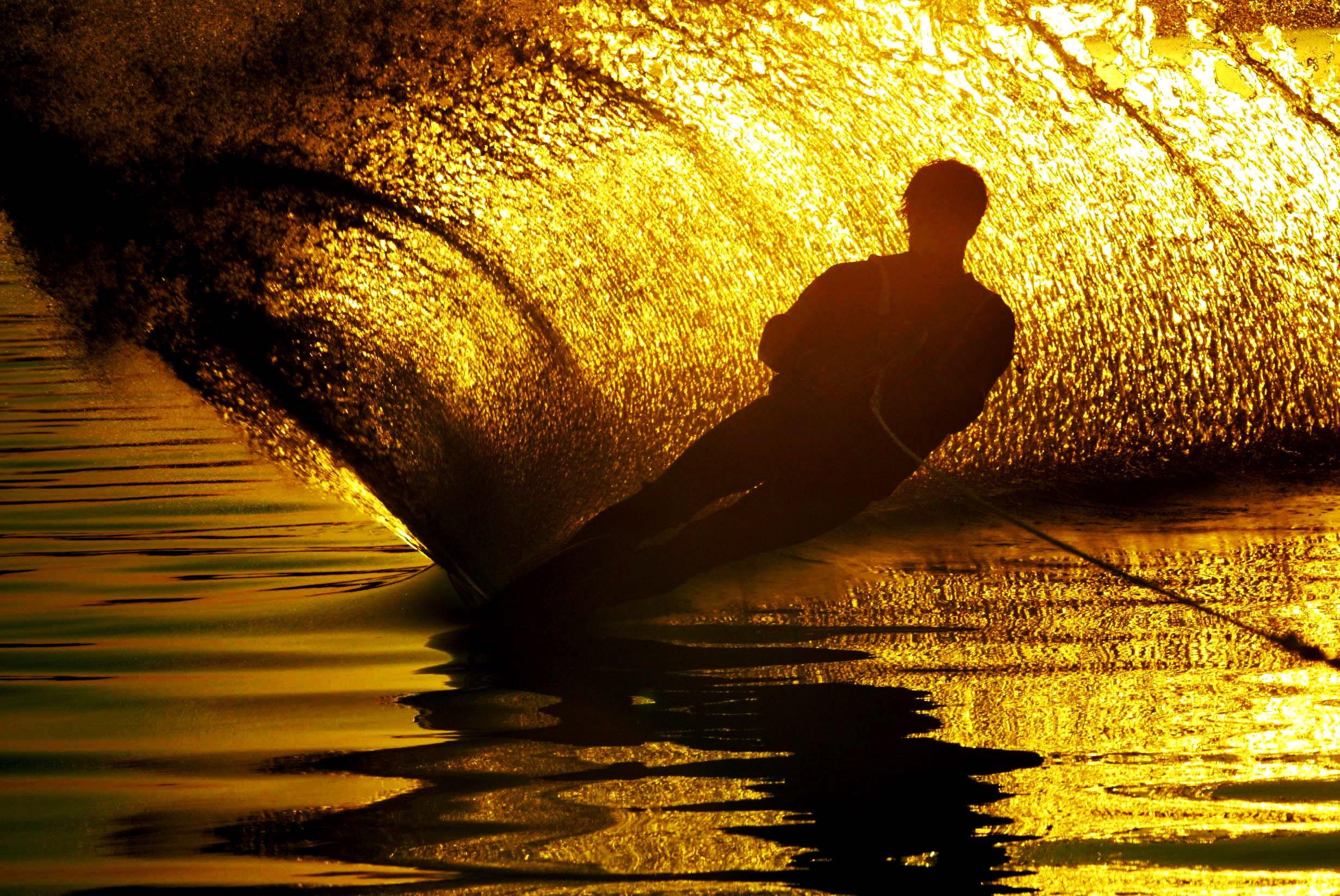 water ski near Warsaw