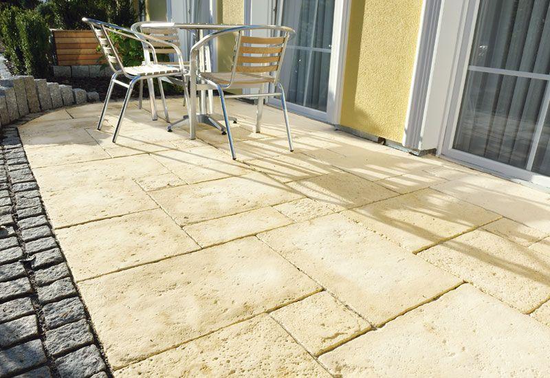 Kleine Terrassen elegant gestalten! Terrassenplatten Pinterest - kleine terrasse gestalten ideen