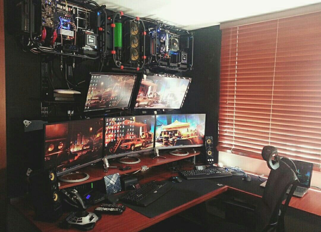 Gaming Desks Pinterest Setup Video Game Rooms Battery Backup Circuit Group Picture Image By Tag Keywordpictures Cool Interior Design Ideas For Gamers The Urban