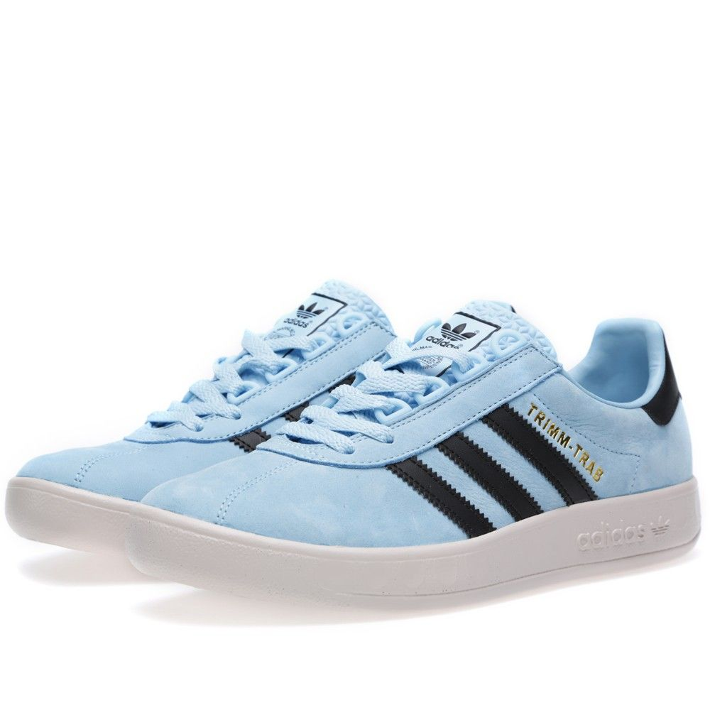 Adidas Trimm Trab (Argentina Blue & Legend Ink)