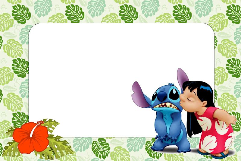Lilo and Stich Free Printables and Images. Lilo and