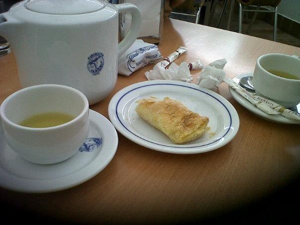 Sintra, pastéis e chá