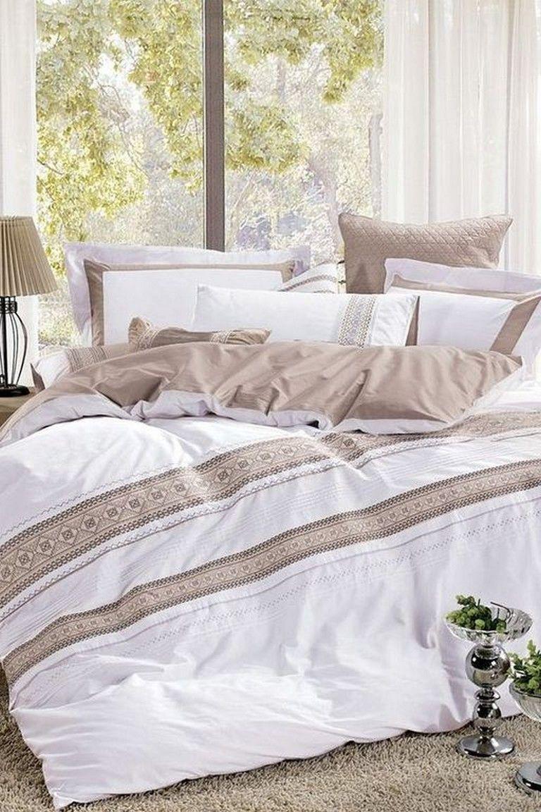 18 Awesome White Bedding Set Design Ideas Master Bedroom Bedroomdecor Bedroomdesign Bedroomdecoratingideas Home Woman Bedroom White Bed Set