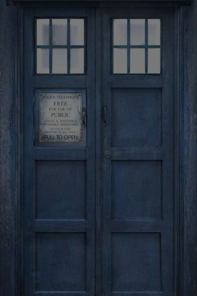 majestic dr who tardis door decal. iPhone TARDIS Lock and Home Screens  iOS 5 versions Sarah Marr at scidoll