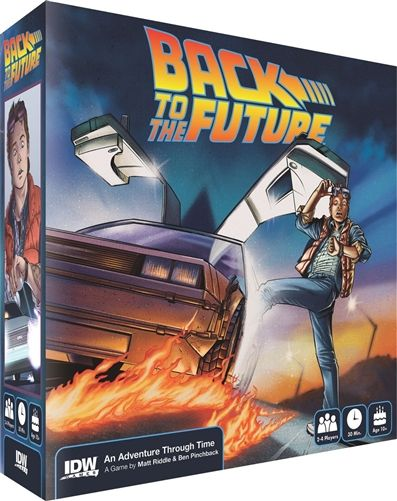 """""""Back to the Future Adventure Through Time"""" board game"""