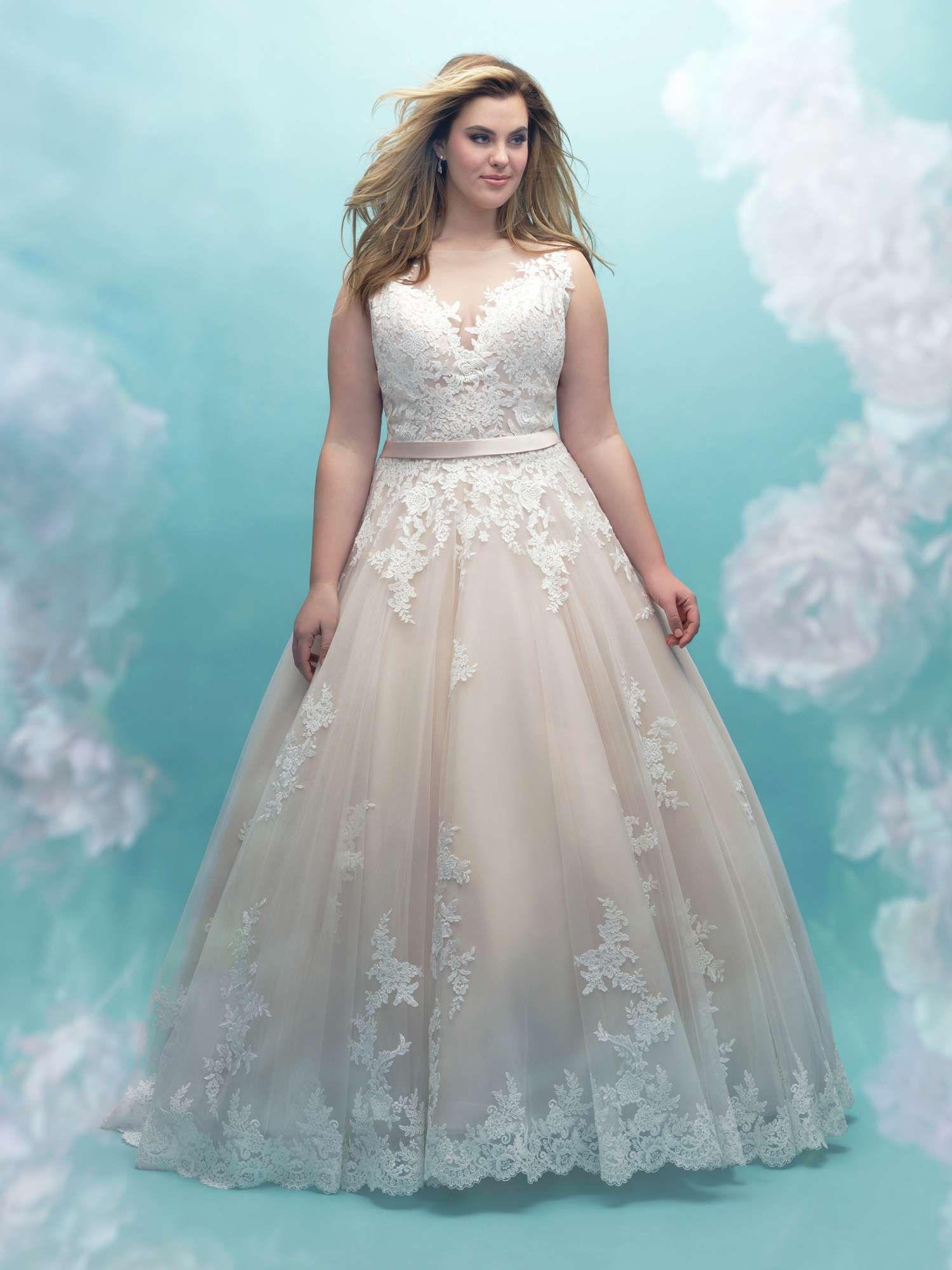 Allure Bridals + size w405, collectie \'women\' grotere maten 2018 ...