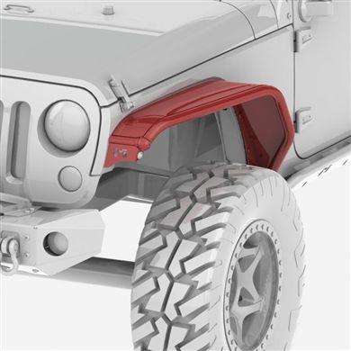 Overland Tube Fenders Jk Wrangler Front Jeep Wrangler Accessories