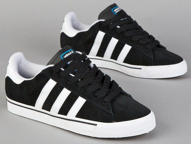huge discount f1224 fce2d adidas Skateboarding Campus Vulc Low – Black   White