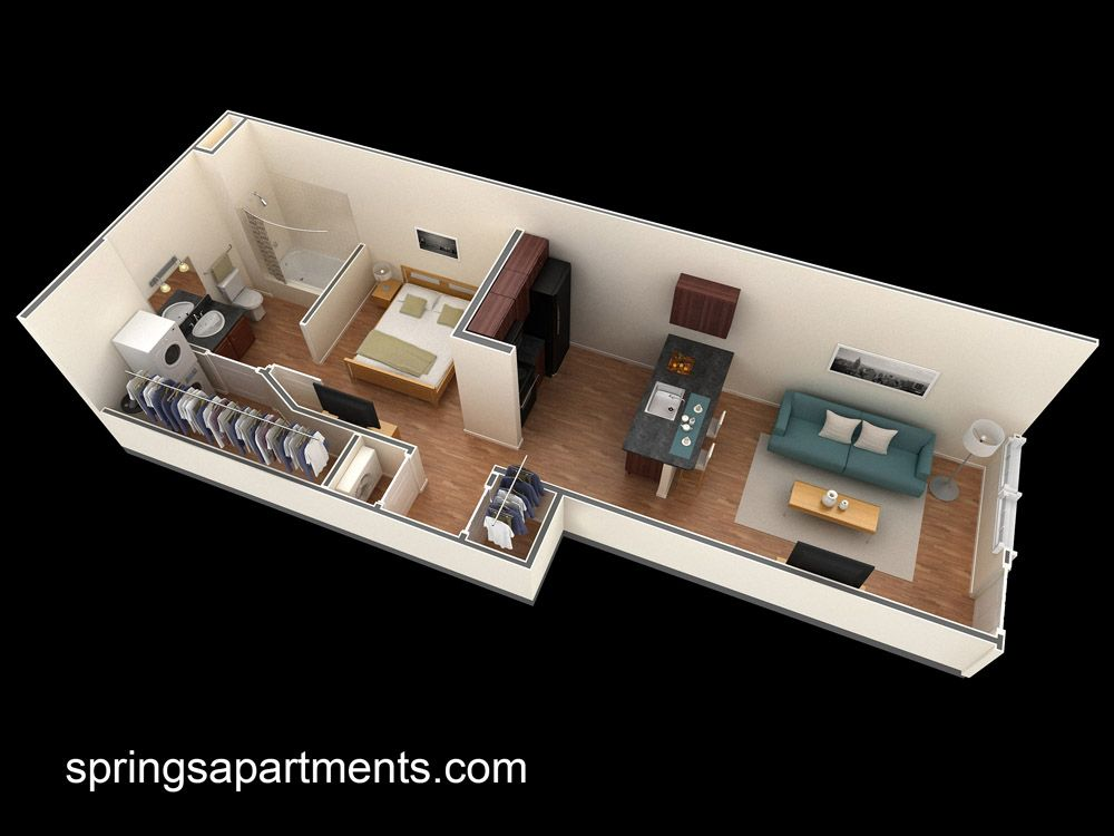 Springs At Creekside Apartments Studio Apartment Floorplans In New Braunfels Tx