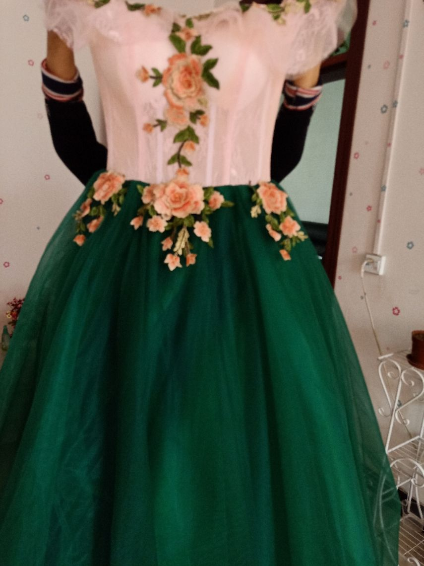 Vintage Retro Dark Green Prom Dresses 2019 Ball Gown Appliques Lace Off The Shoulder Short Sleeve Backless Floor Length Long Formal Dresses Green Prom Dress Prom Dresses 2019 Ball Gowns Dark Green [ 1140 x 855 Pixel ]