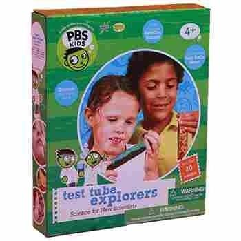 Test Tube Explorers PBS Kids Science Kit, Children use their