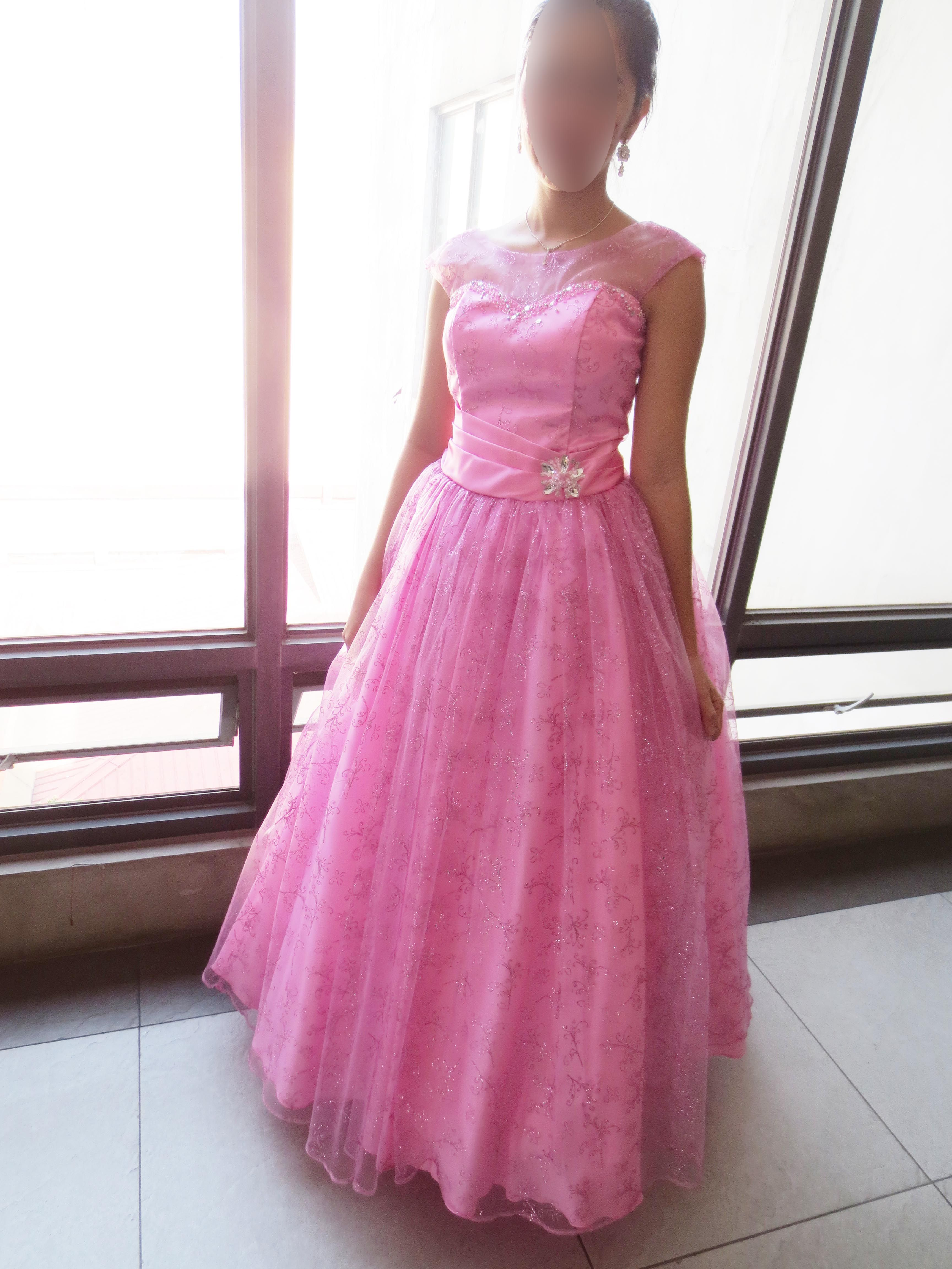 Pastel pink ball gown debut pink ball gown tulle ball gown Php1,000 ...