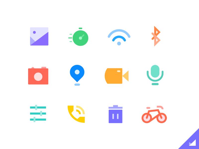 Paper Style Icons Icon Design Icon Flat Design Icons