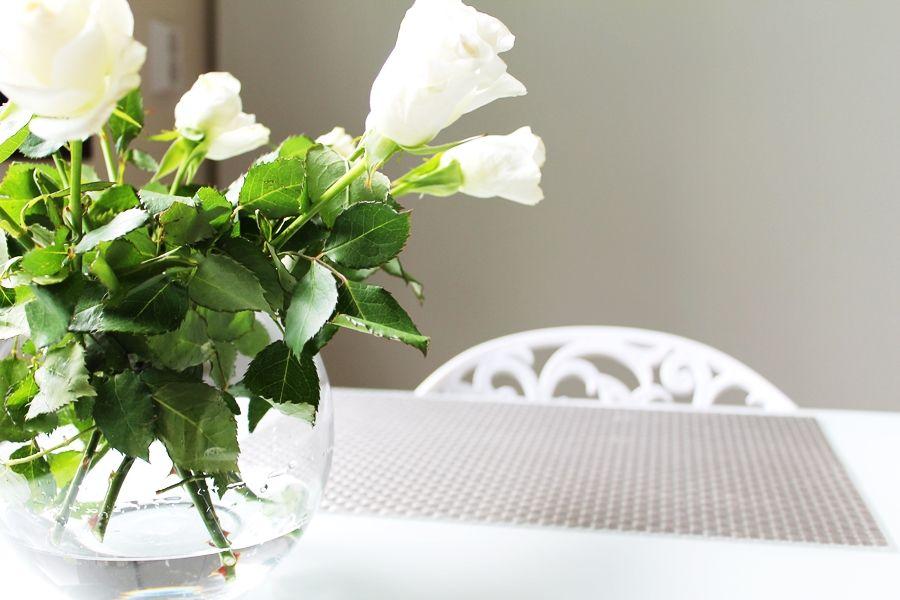 Valkoiset ruusut <3
