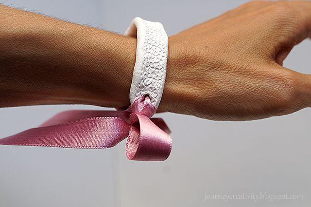 Journey into Creativity: Clay bracelet