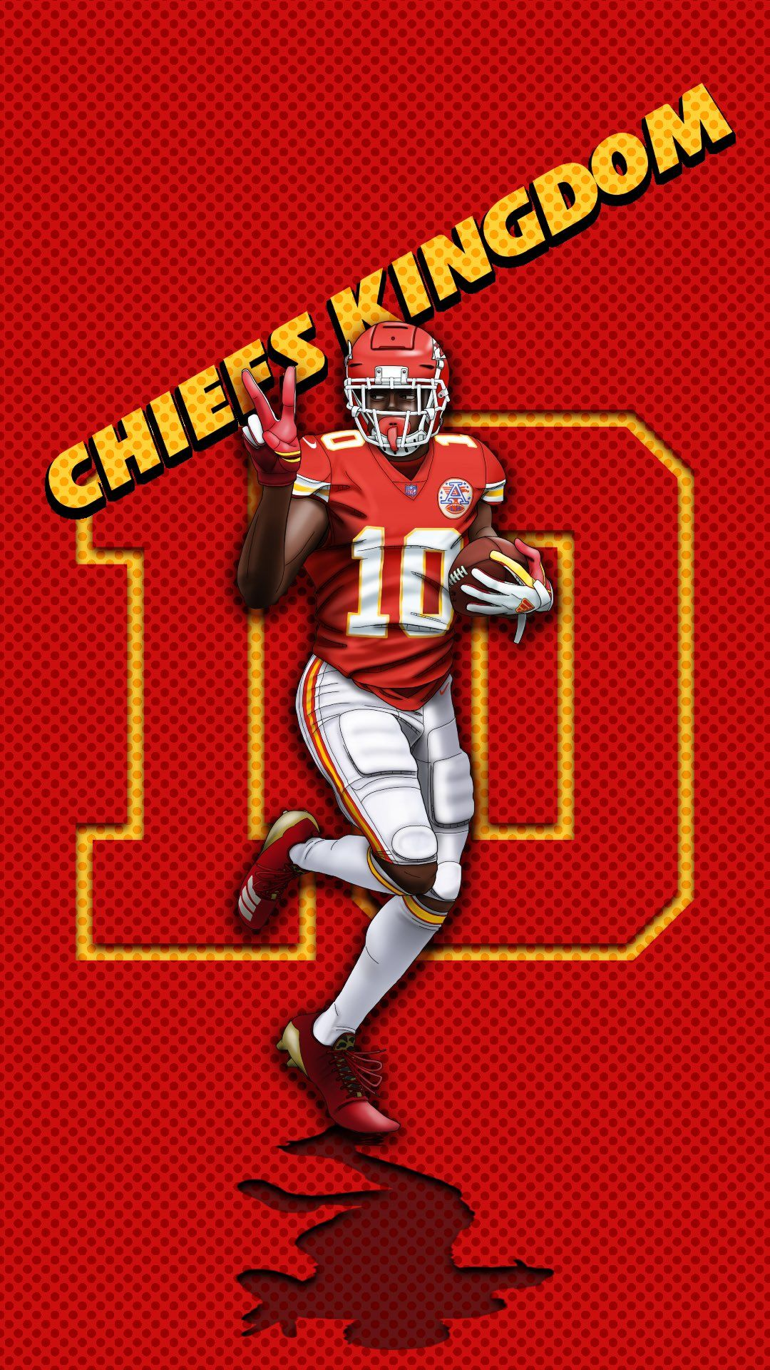 Tyreek Hill Fan Art Wallpapers Chiefs In 2020 Chiefs Football Kansas City Chiefs Football Kansas City Chiefs