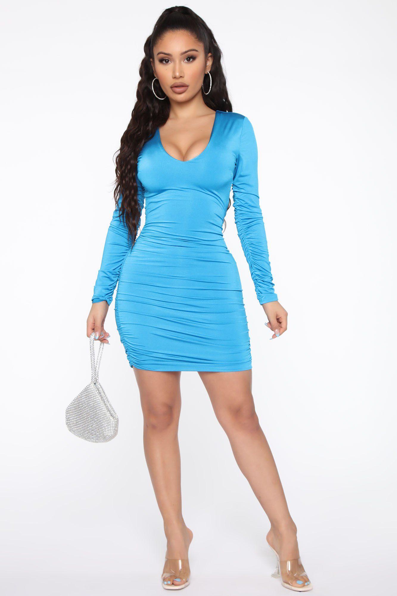 Let S Lace Up Mini Dress Turquoise Mini Dress Turquoise Fashion Fashion Nova Dress [ 2000 x 1333 Pixel ]