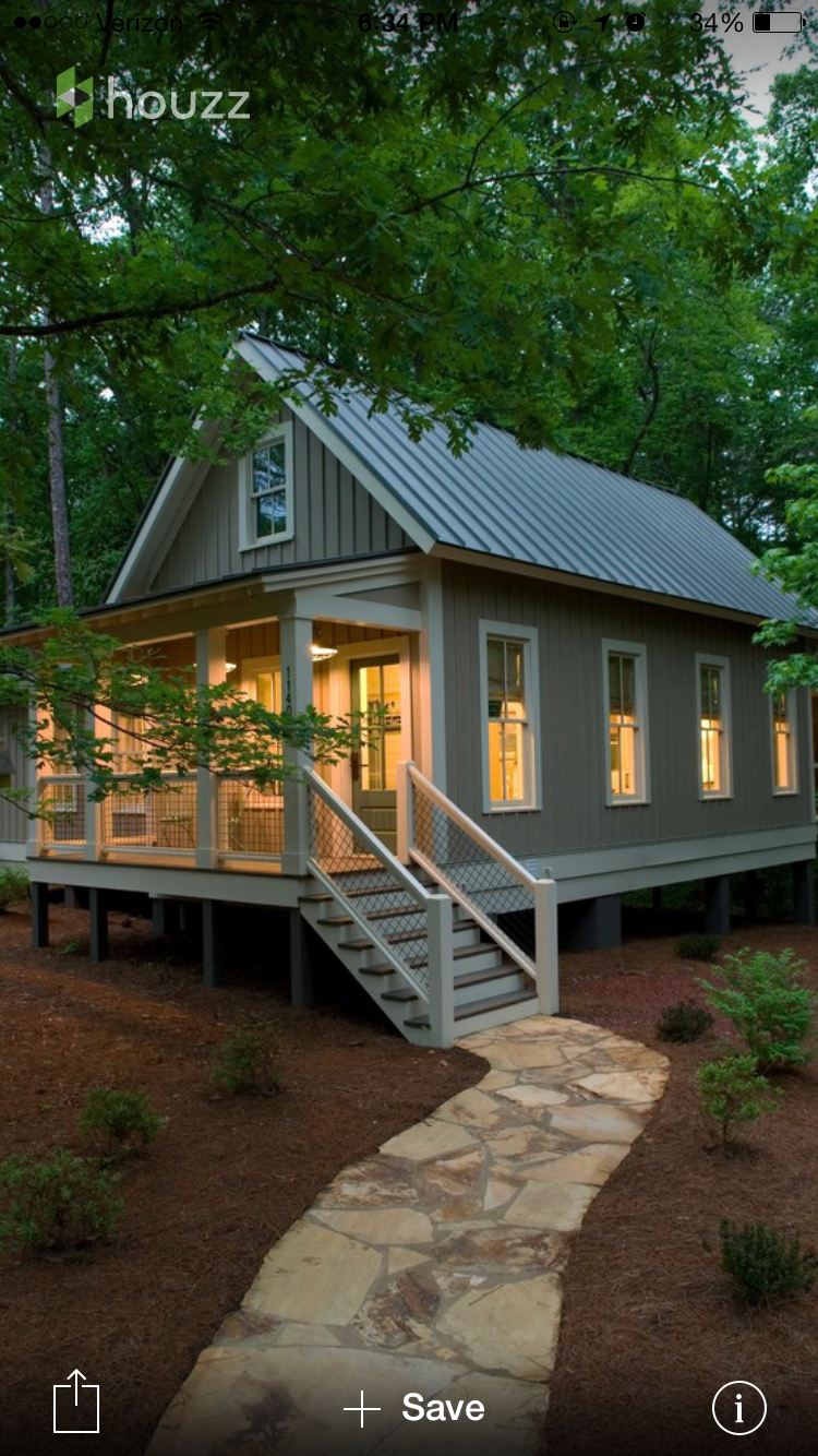 Simple exterior casas pinterest house cabin and tiny houses