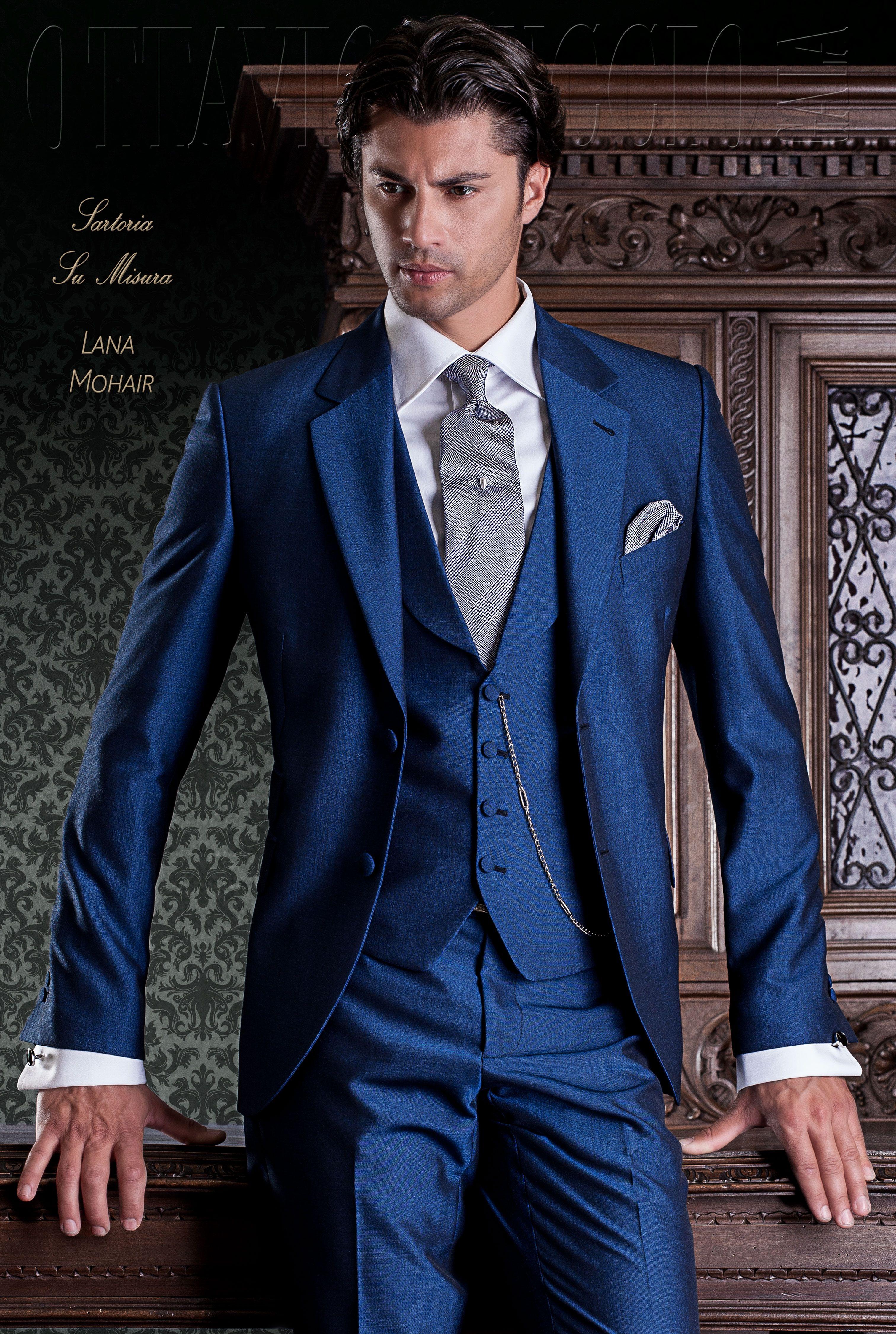 Vestiti Da Sposo Su Ottavio Nuccio Gala Gentleman 1337 Linea Gentleman Mezzo Tight Vestiti Eleganti Da Uomo Abiti Estivi Da Uomo Abiti