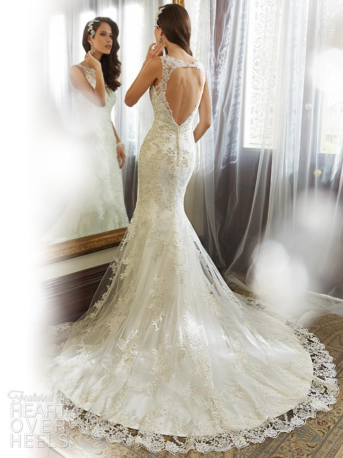 sophia tolli wedding dress 2015 kea | #GomezBelmonteWedding ...