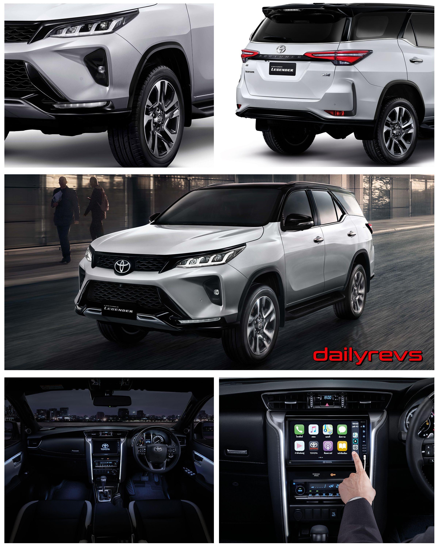 2020 Toyota Fortuner Legender [TH] Dailyrevs in 2020