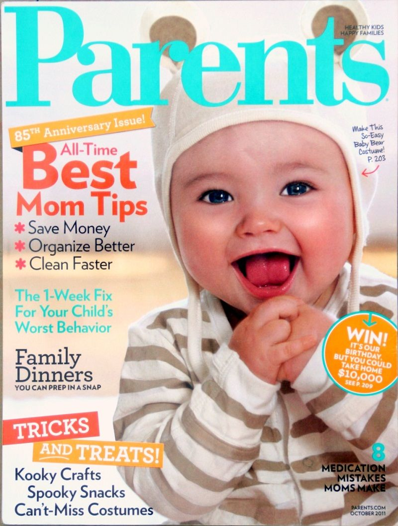 Today Only Subscribe to a Whole Year of PARENTS Magazine for just ...