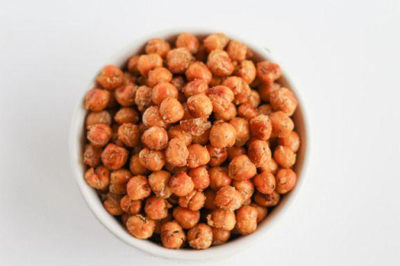 Crispy Ranch Chickpeas | Recipe | Healthy snacks, Healthy ...