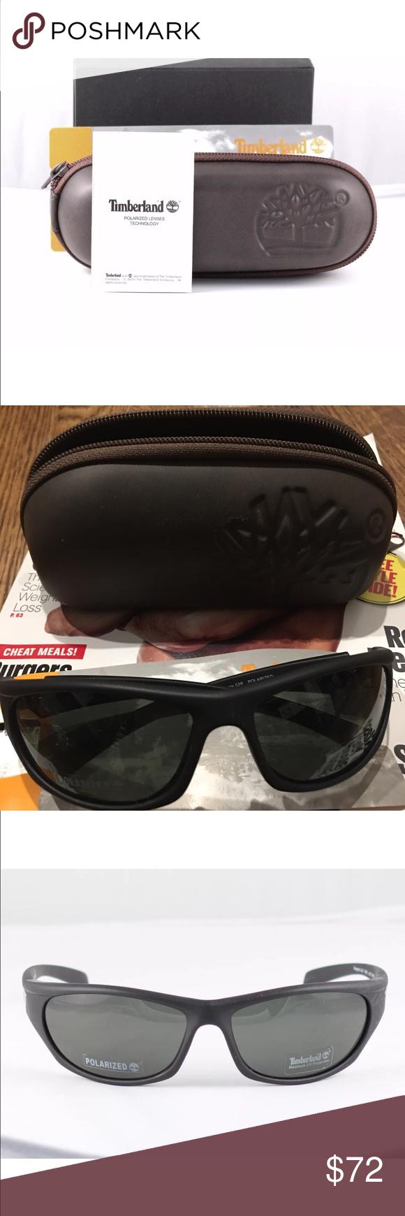fbb9833f6e NWT Black Timberland Wrap Sunglasses MEN s SALE! NWT Authentic Timberland  Sunglasses Model  TB 9507 Color  black 02R size  63-16-130 Retail  89- 119  PRICE ...