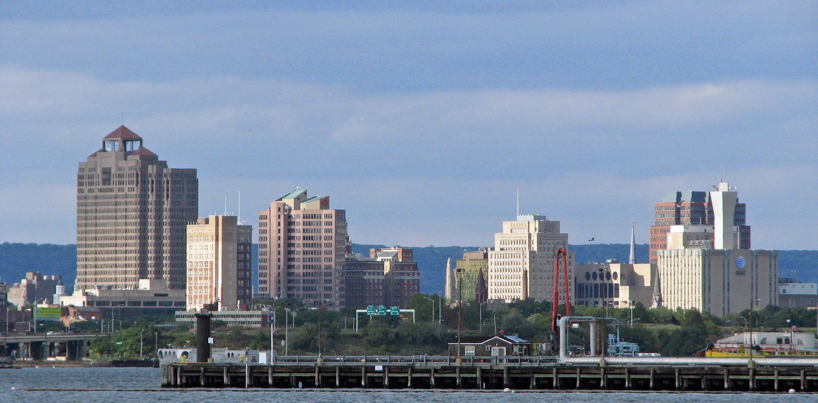 Downtown New Haven Connecticut Skyline Of Downtown New