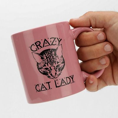 Things Every Cat Lady Needs; Crazy Cat Lady Mug, $12.00 From UrbanOutfitters.com  -  GoodHousekeeping.com   (08.18.14)