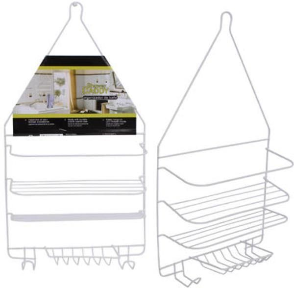 White 3-Tier Shower Caddy - 144 Units | Products | Pinterest | Products
