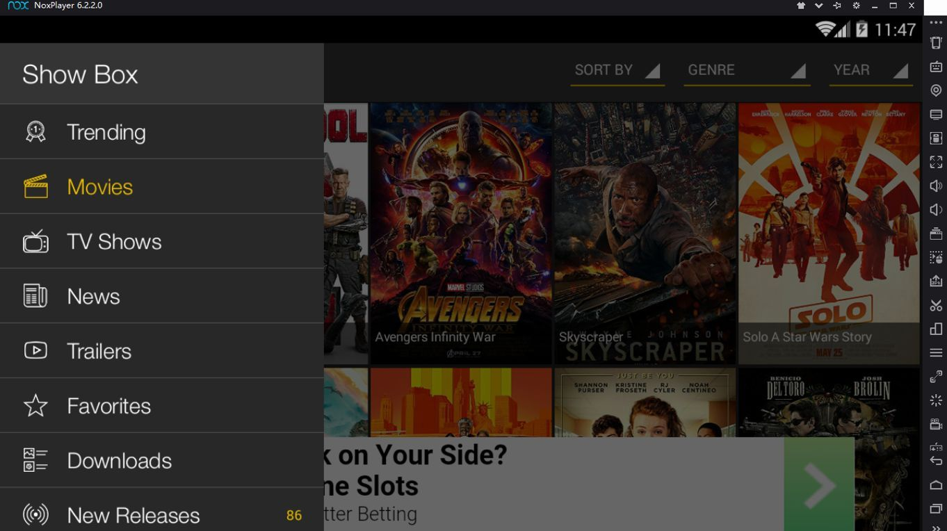 Download Showbox Free for PC/Laptop/Windows 7,8,10