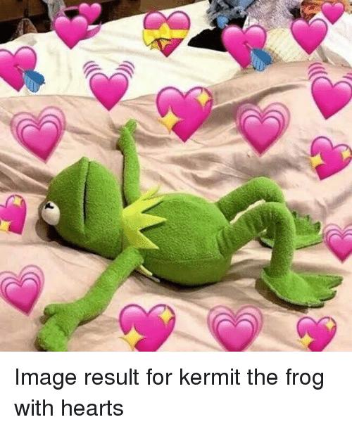 Kermit Love Hearts : kermit, hearts, RANDOM