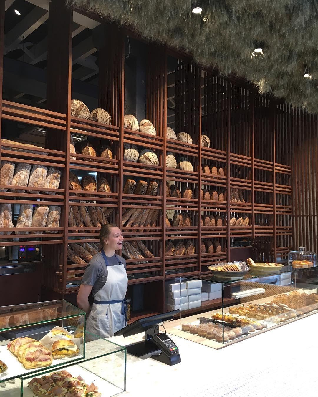 Amano Bakery New Zealand Great Bread Shelves And Counter Bread Shop Bakery Design Interior Bakery Design