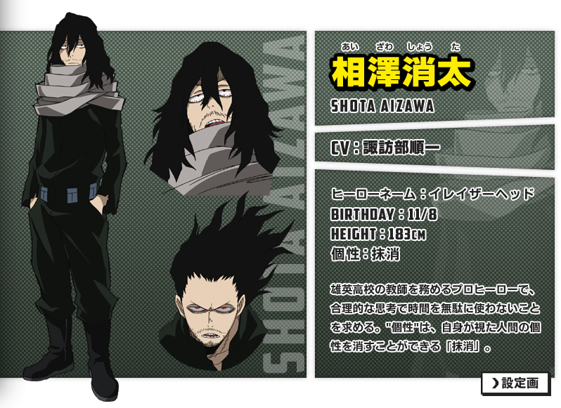 24++ Aizawa quirk ideas in 2021