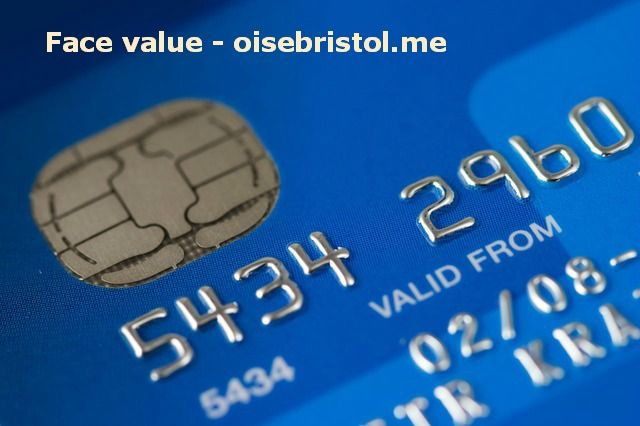 Face value? Secure credit card, Credit card online