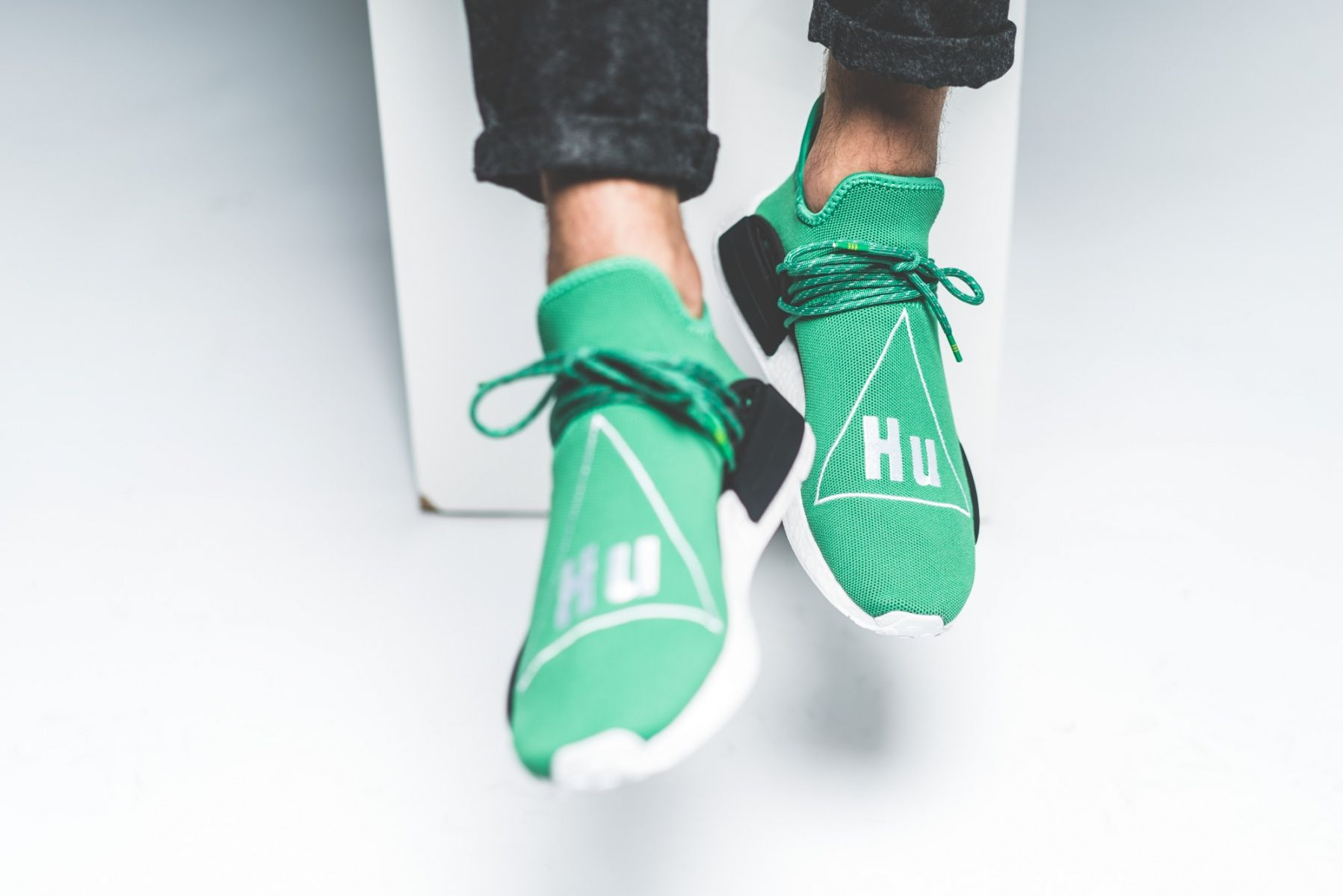 1e27c4064fa Watch out for all the fake Adidas NMD Pharrell Williams Human Races ...