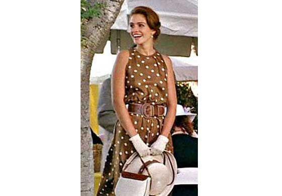 02815958de3 julia roberts brown polka dot dress - Google Search