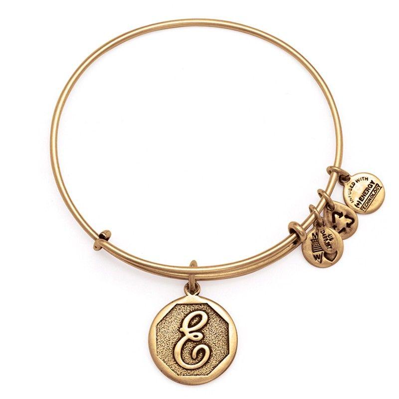 Mom E A Grandma Or Mn O Alex And Ani Initial Bracelets